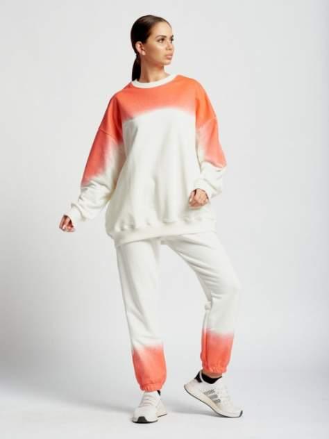 Спортивный костюм DAZZLE STYLE Амбре,белый