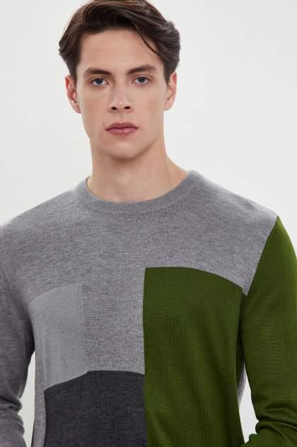 Джемпер мужской Finn Flare W20-42100 зеленый 2XL