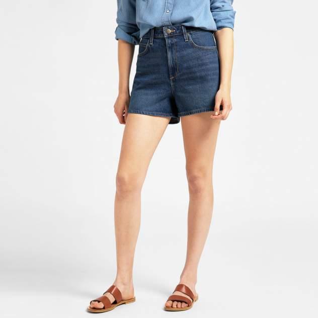 Джинсовые шорты женские Lee L37CMW синие 29