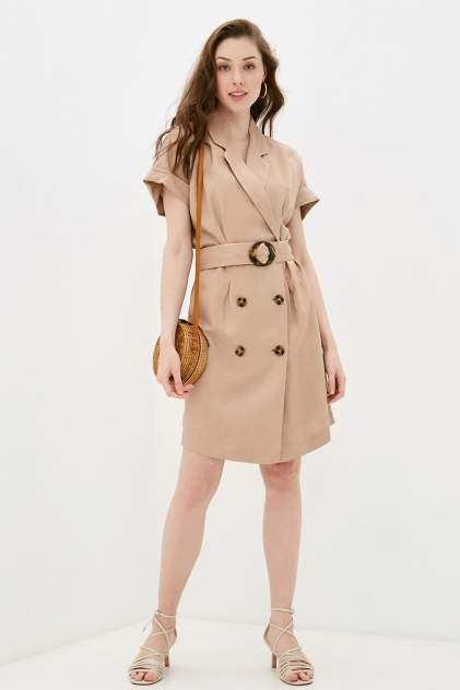 Женское платье Baon B451032, бежевый