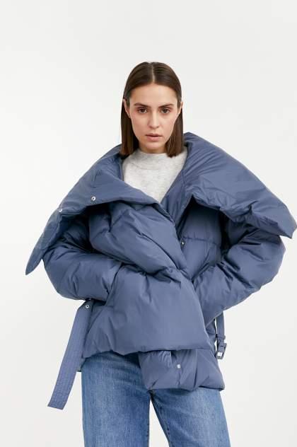 Куртка Finn Flare W20-11045, голубой