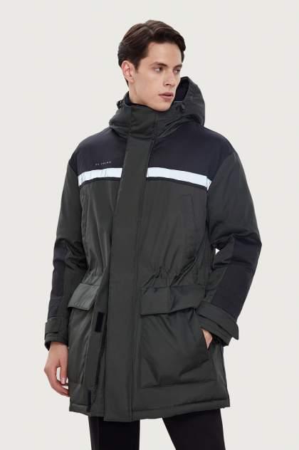 Пальто мужское Finn Flare W20-61002 зеленое 48