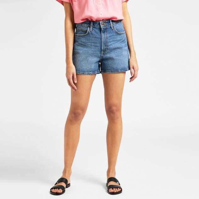 Джинсовые шорты женские Lee L37CMW синие 28