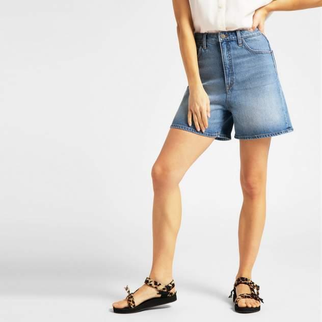 Джинсовые шорты женские Lee L37EMWKP голубые 29