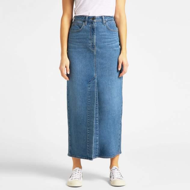 Женская юбка Lee L38LMWMQ, голубой