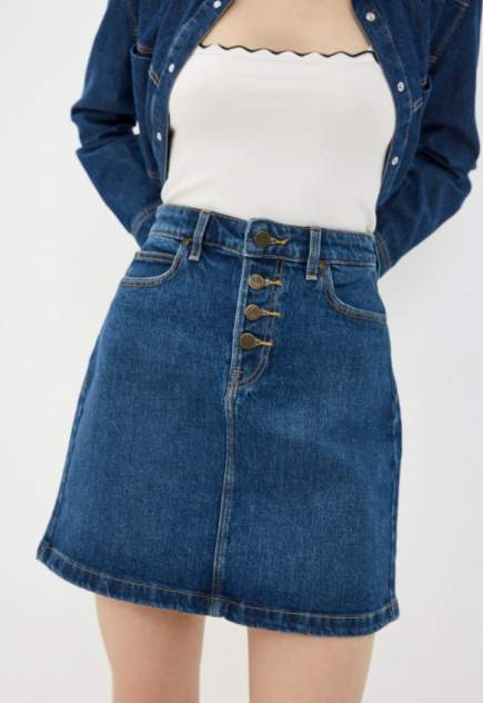 Женская юбка Lee L38MMW, синий
