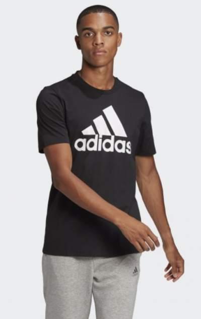 Футболка мужская Adidas GK9120 черная XL