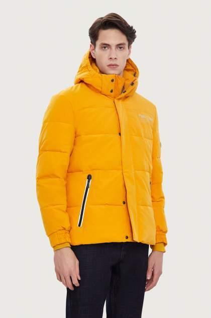 Куртка мужская Finn Flare WA20-42008 желтая 56