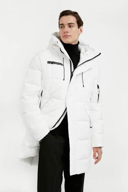 Пальто мужское Finn Flare W20-61001 белое 50
