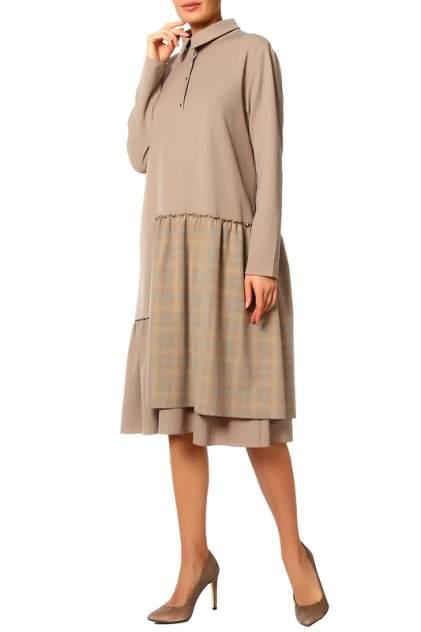 Платье женское Adzhedo 41616 бежевое 4XL