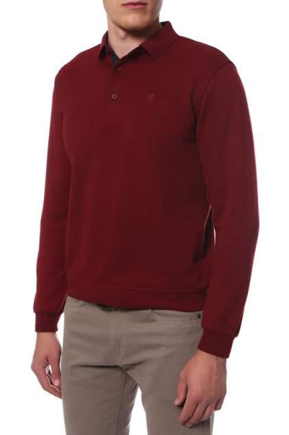 Джемпер мужской La Biali 336/218-28 (БОРДОВЫЙ) красный 4XL