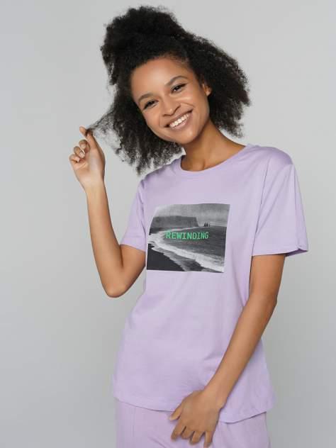 Футболка ТВОЕ 80031, фиолетовый
