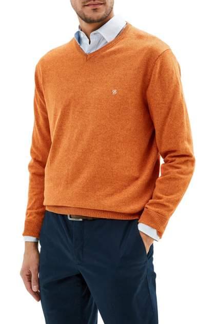 Джемпер мужской La Biali В309/219-714 оранжевый 3XL