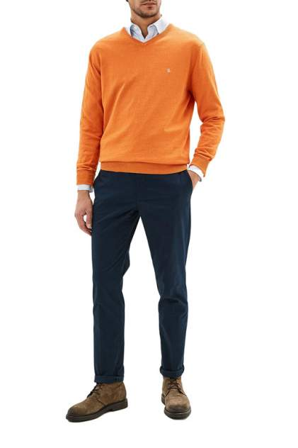 Джемпер мужской La Biali В309/219-713 ЯРКО-ОРАНЖЕВЫЙ оранжевый 3XL