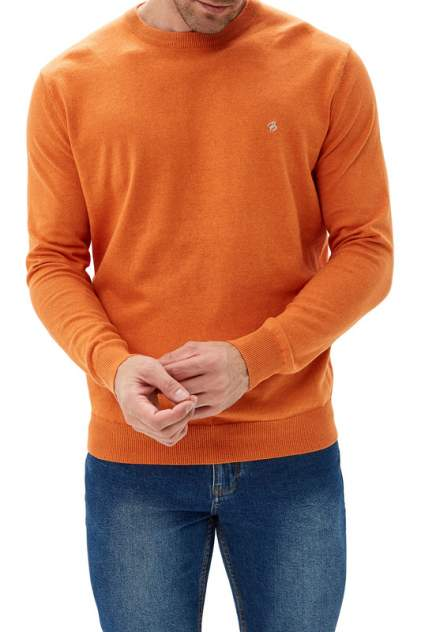 Джемпер мужской La Biali В308/219-713 ЯРКО-ОРАНЖЕВЫЙ оранжевый 3XL
