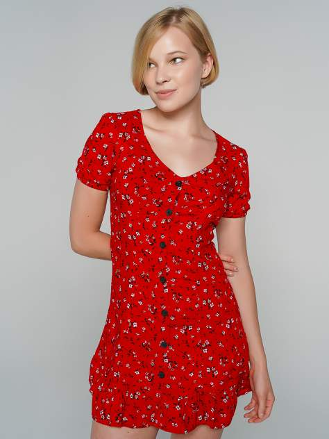 Платье женское ТВОЕ A8052 красное XL
