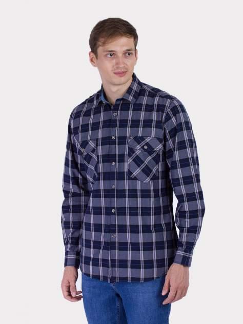 Рубашка мужская DAIROS GD81100411, синий