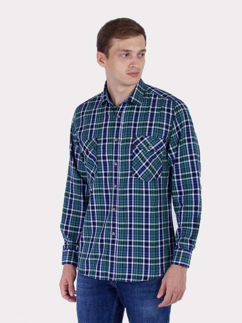 Рубашка мужская DAIROS GD81100410 зеленая 52