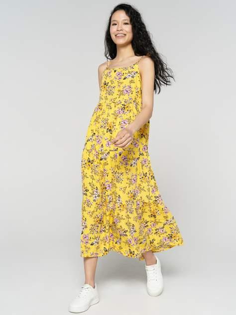 Женское платье ТВОЕ A8086, желтый