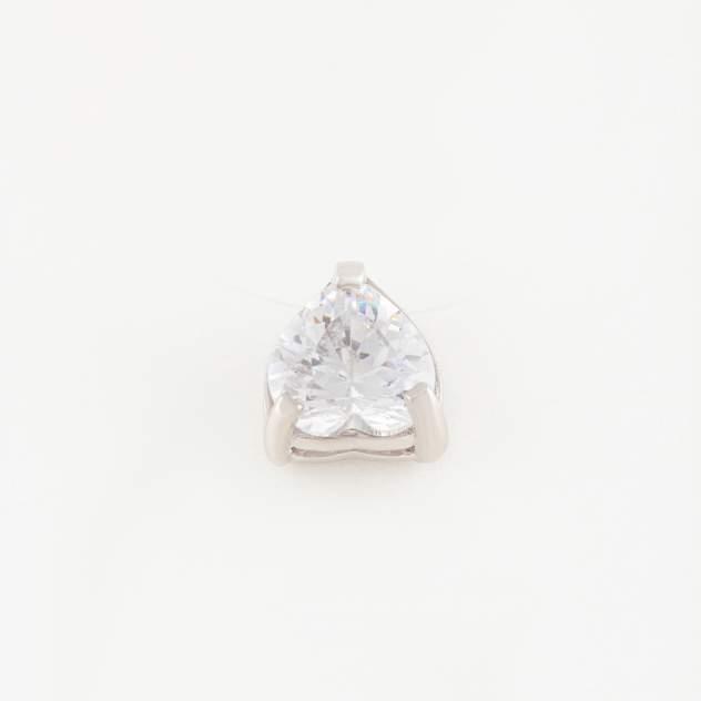 Колье женское НАШЕ ЗОЛОТО РЫ5772841С из серебра с фианитами, 40 см