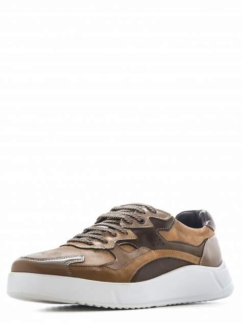 Кроссовки мужские quattrocomforto 1608-1-20 коричневые 44 RU