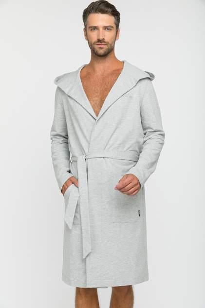 Домашний халат мужской Peche Monnaie Sport's Idol серый 2XL