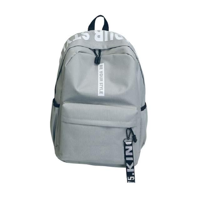Рюкзак молодежный, городской RAMMAX. IT'S MY STYLE RKZ-02 серый/белый