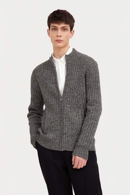 Кардиган мужской Finn Flare A20-22109 серый 3XL