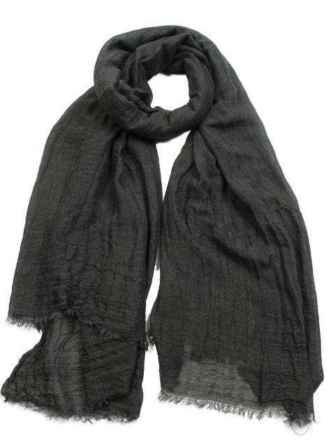 Палантин женский Venera 3418741 черный, 100х200 см
