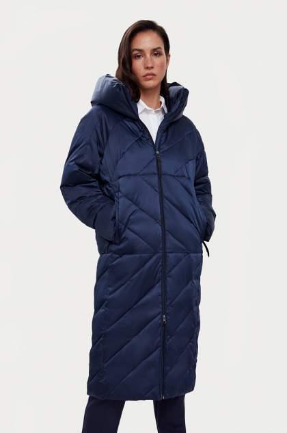 Пуховик-пальто женский Finn Flare A20-11022 синий L