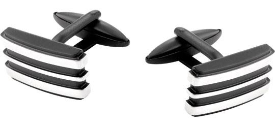 Запонки мужские Aztorin AZ125-9452 черные