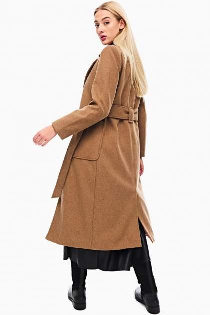 Пальто женское Y.A.S 26020096 коричневое S INT