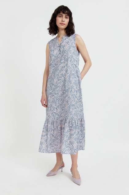 Женское платьеЖенское платье  Finn FlareFinn Flare  S21-14082S21-14082, , голубойголубой