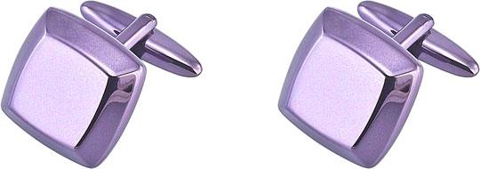 Запонки мужские Brice 17-C-1067-99 фиолетовые
