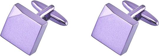 Запонки мужские Brice 17-C-1055-99 фиолетовые