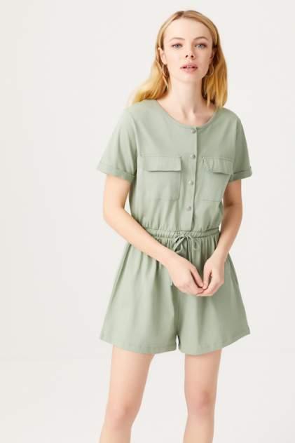 Комбинезон женский Sela 1805011703, зеленый