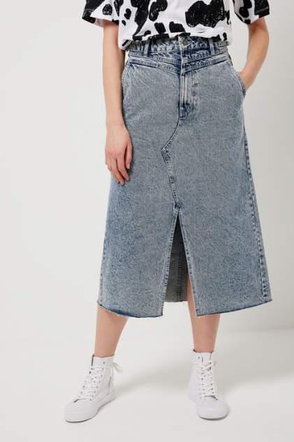 Женская юбка Sela 1804021903, синий