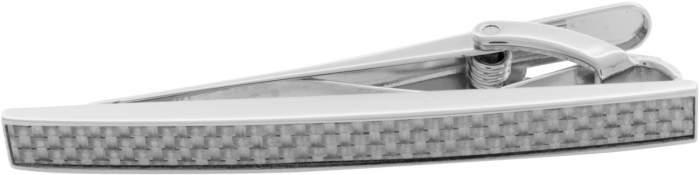 Зажим для галстука мужской Tateossian TC0357 серебристый