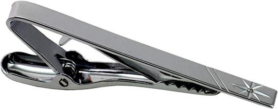 Зажим для галстука мужской Colibri ATA000075W серебристый