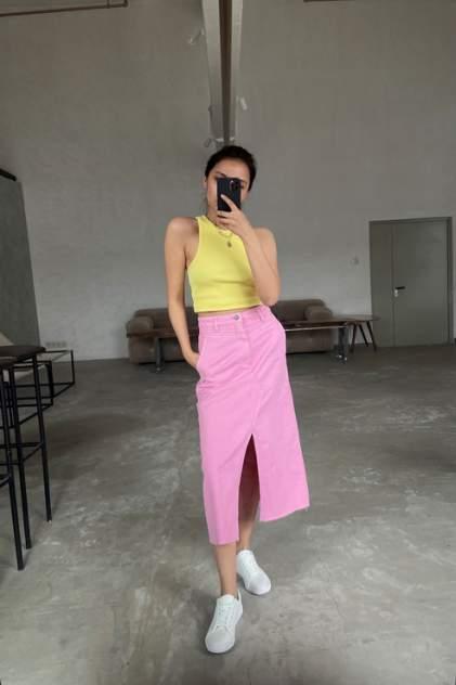 Женская юбка Sela 1804021903, розовый