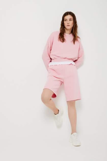 Повседневные шорты женские Sela 1804011513 розовые 48 RU