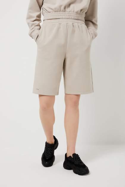 Повседневные шорты женские Sela 1804011513 бежевые 48 RU