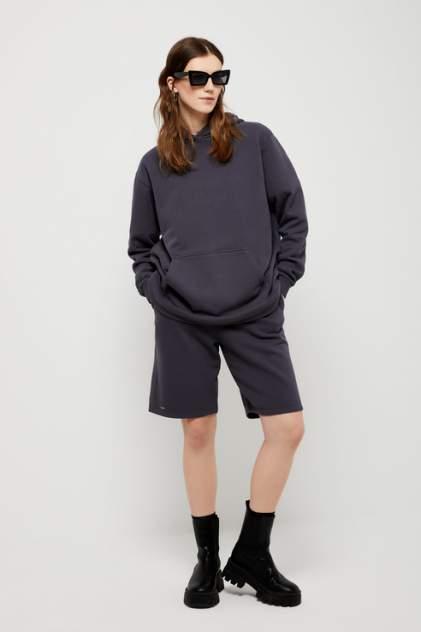 Повседневные шорты женские Sela 1804011513 серые 48 RU