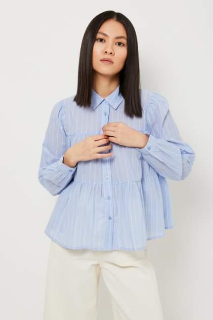 Женская блуза Sela 1804010509, голубой