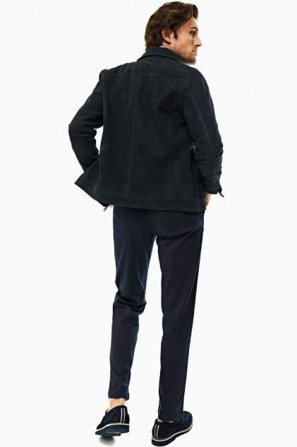 Кожаная куртка мужская Selected 16074393 синяя M INT