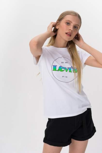 Футболка женская Levi's 17369-1295 белая 42 RU