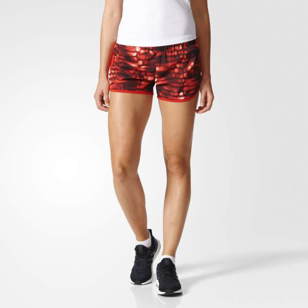 Женские шорты Adidas AZ8456, красный