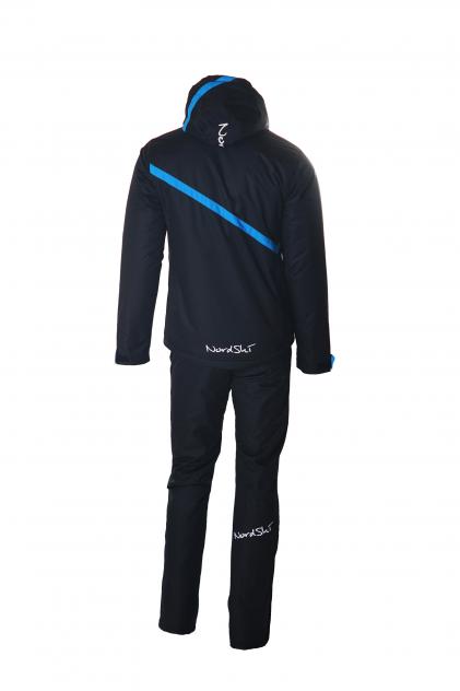 Утепленный костюм Nordski Premium 15/16, черный, S INT