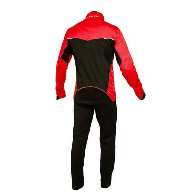 Разминочный костюм Nordski Premiumi, красный, XXS INT