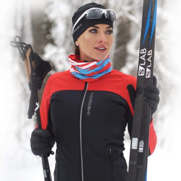 Разминочный костюм Nordski Active женский, красный, L INT